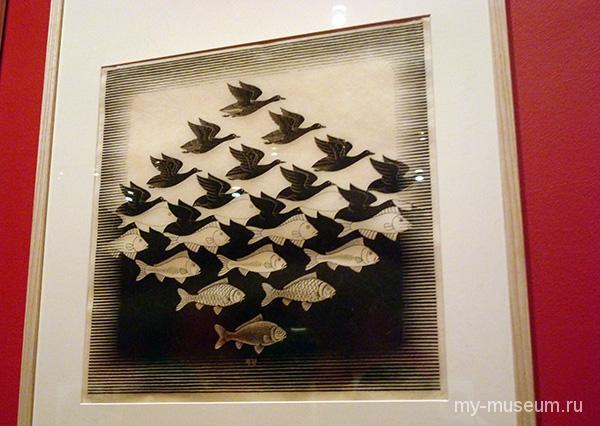 Выставка Морица Эшера